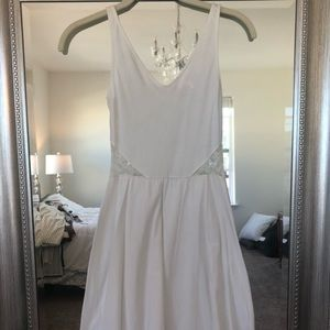 White H&M Sun Dress